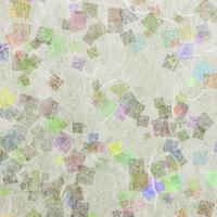 和紙に色彩構成