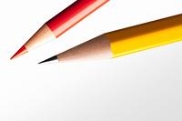鉛筆と赤鉛筆