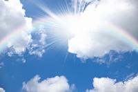 入道雲と太陽