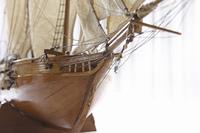 模型の帆船