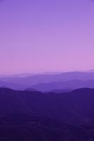 四国カルストからの山並み