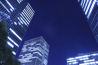 大阪の夜景、梅田