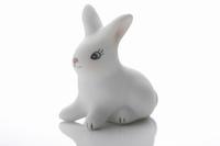 ウサギの置き物