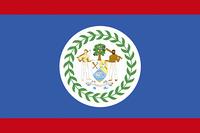 ベリーズの国旗