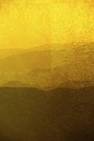 金屏風と山並みのバックグラウンド