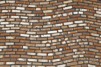 煉瓦の壁面