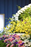 告別式の祭壇