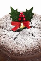 クリスマスガトーショコラケーキ