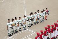 少年野球試合前の挨拶