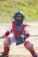 少年野球キャッチャー