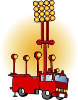 電源照明車
