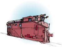 複線式ラッセル車