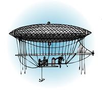 アンリジェファールの飛行船