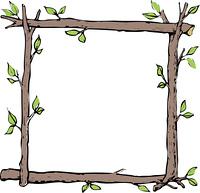 木のタイトル枠