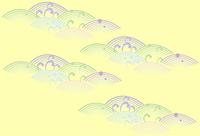 和風模様青海の波
