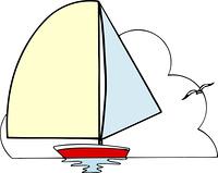 ヨットの枠