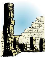 戦士の石像
