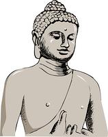 ボロブドゥル仏像