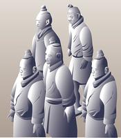 秦の始皇帝陵兵士俑