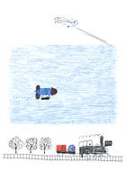 汽車と飛行機