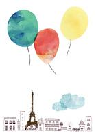パリの風船