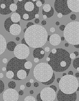 丸い模様のパターン