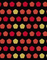 梅模様のパターン