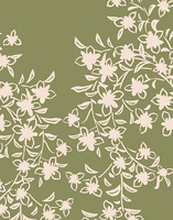 花柄のパターン