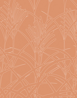 ススキ柄のパターン