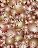 落ち葉のパターン