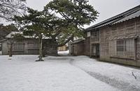 厳寒の江差・旧関川家別荘