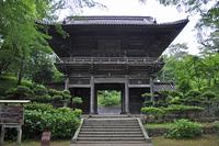 初夏の酒田・日枝神社 隋神門