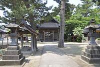 初夏の酒田・厳島神社