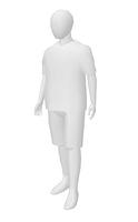 男性ホワイトモデル