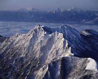 八ヶ岳と南アルプスの冬