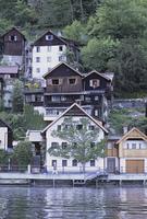 ハルシュタット湖畔の家