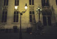 夜のブリュッセル市街