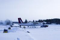 雪上飛行機