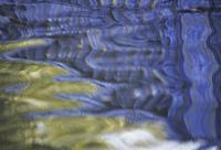 川面の映る欄干