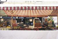 市場の果物屋