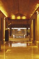 リゾートホテルのロビー