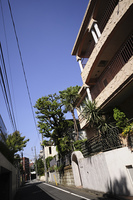 渋谷区鉢山町の住宅街