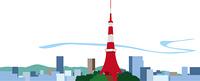 東京の東京タワー