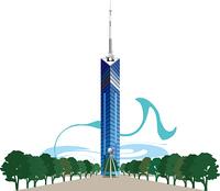 福岡の福岡タワー