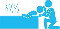 入浴介助のピクトグラム