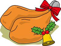 クリスマスのローストチキン