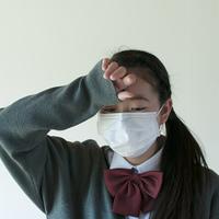 熱がある中学生
