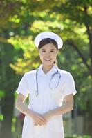 看護士のポートレイト