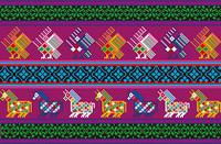 民族文様(中南米)