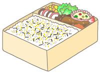 海苔玉弁当
